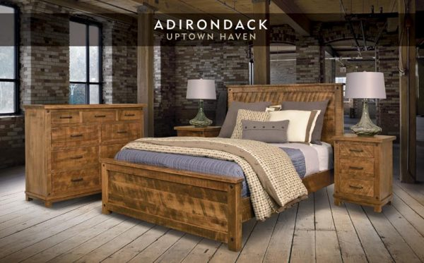 Adirondack Bedroom Collection 171 Abode Crafted Wood Furnishings