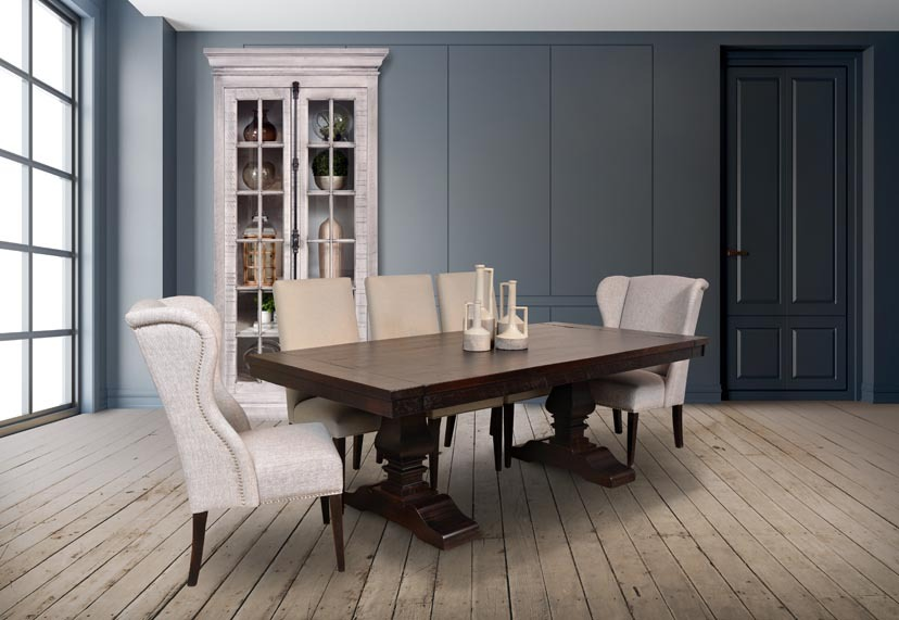 Alexandria dining room pieces « abode crafted wood furnishings