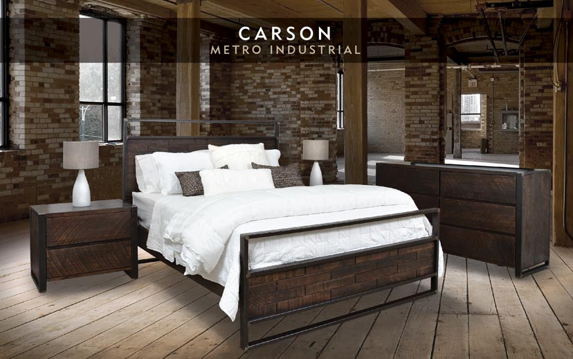 Carson Bedroom Collection Abode Crafted Wood Furnishings