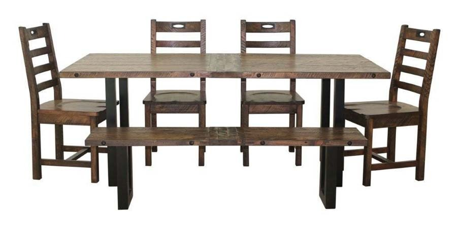 Home The Shop Rustic Reclaimed Recycled New York Dining Collection
