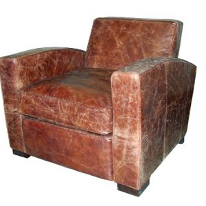 tw studio hilton full grain leather chair