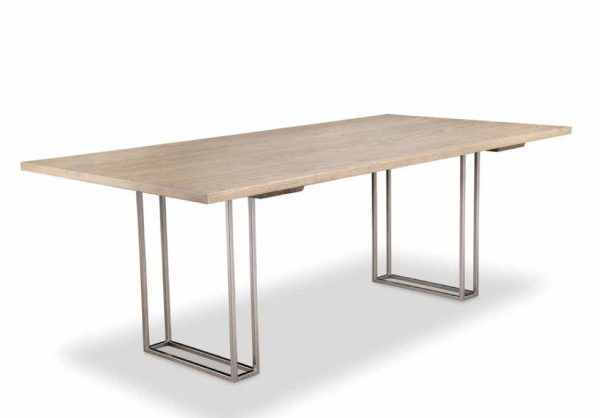 Electra Dining room solid top dining table
